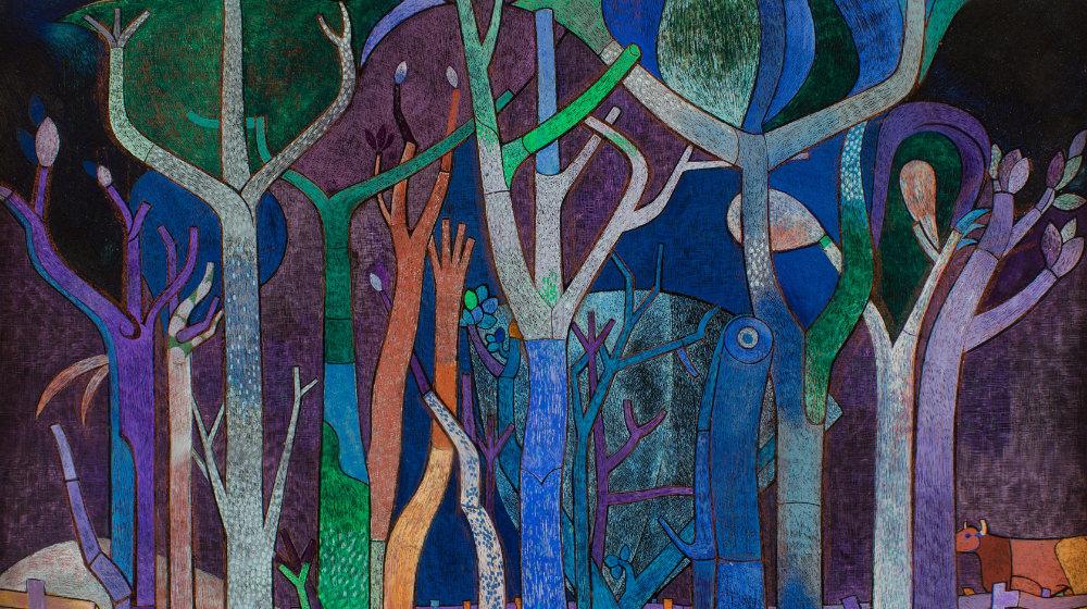 Bäume um 1947